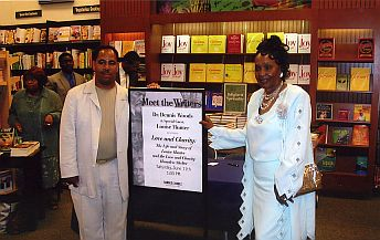Author - Dr. Dennis Woods And LAC Founder - Louis (Mother) Hunter.